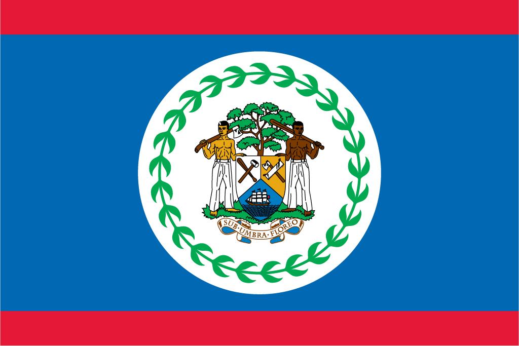 Красный-синий-красный флаг